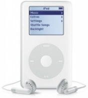 Apple Ipods! We have Apple Ipods that holds 1,000 songs or up to 2,000 songs. We also have Apple Ipods that play video. We have also a universal docking ipods speakers. Have fun browsing our website!