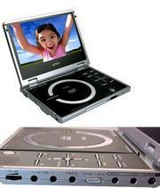 Portable DVD players! This portable dvd player is great on camping, in car while traveling, anywhere you want to watch your favorite dvd. Some of this portable dvd player has a built in games, tv tuner or built in mp3 players.
